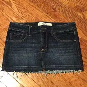 💥 Abercrombie mini jean skirt 💥